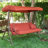 9 Cool and Cozy Patio Swing with Canopy Designs ...