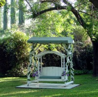 How To Make Your Garden Swing Seat With Canopy Look Like New