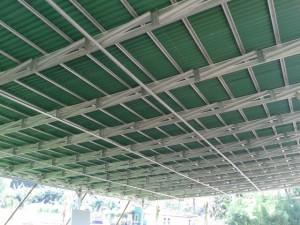 kanopi baja ringan di malang megatruss|engineer,architect, ringan, plafon,bata ...