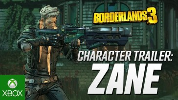 "Borderlands 3 – Zane Character Trailer: ""Friends Like Zane"""