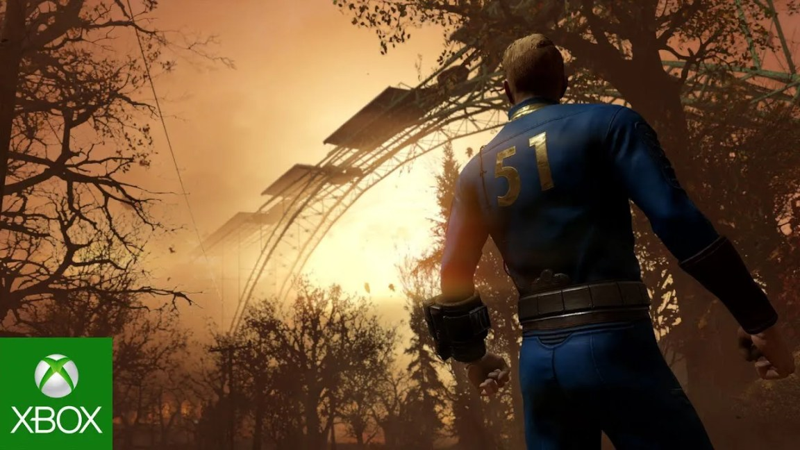Fallout 76 – Official Nuclear Winter Trailer de jogabilidade