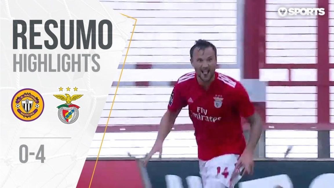 Highlights | Resumo: Nacional 0-4 Benfica (Liga 18/19 #4)