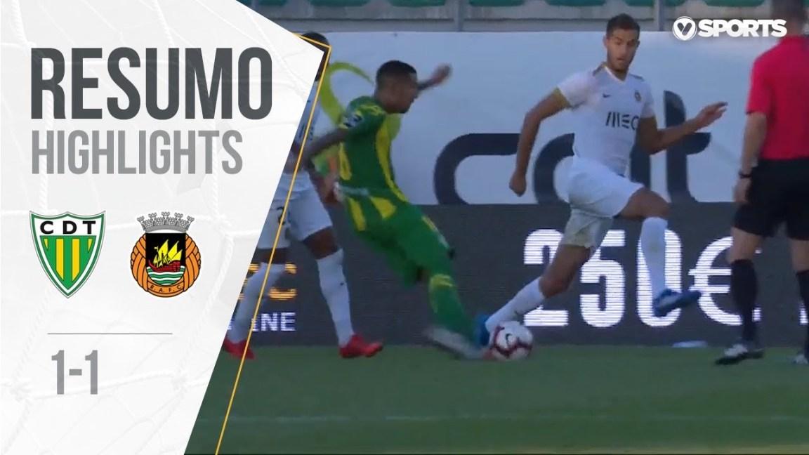 , Highlights | Resumo: Tondela 1-1 Rio Ave (Liga 18/19 #3)