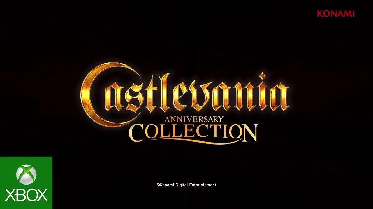 Konami Castlevania Collection Trailer de lançamento