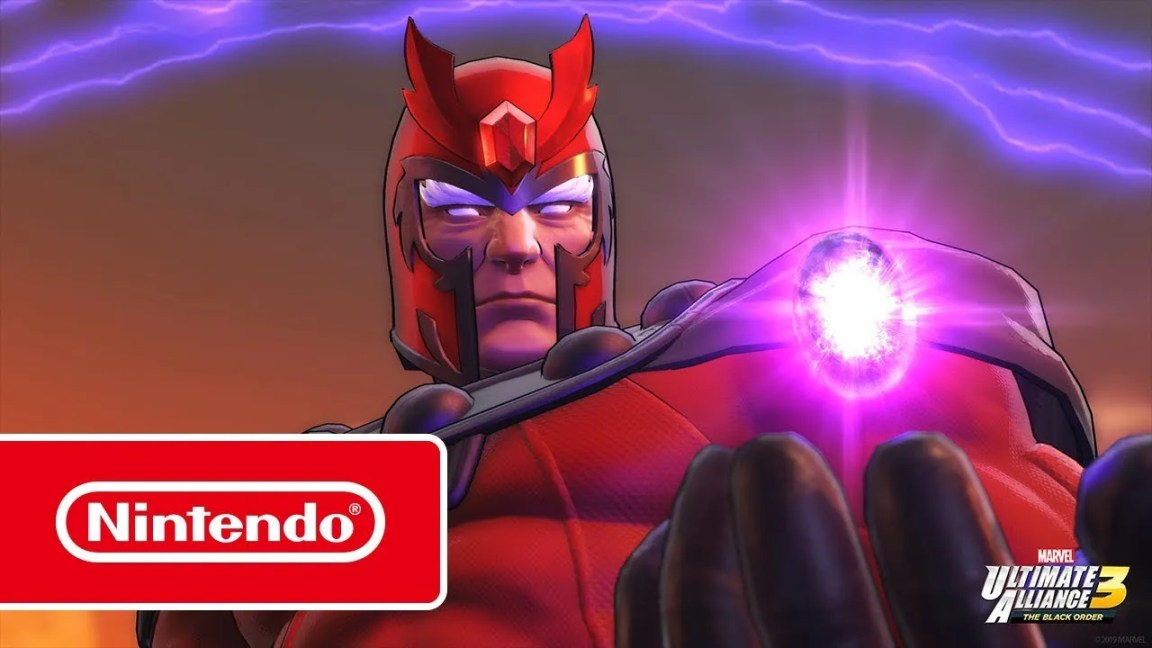 MARVEL ULTIMATE ALLIANCE 3: The Black Order – Trailer dos X-Men (Nintendo Switch), CA Notícias
