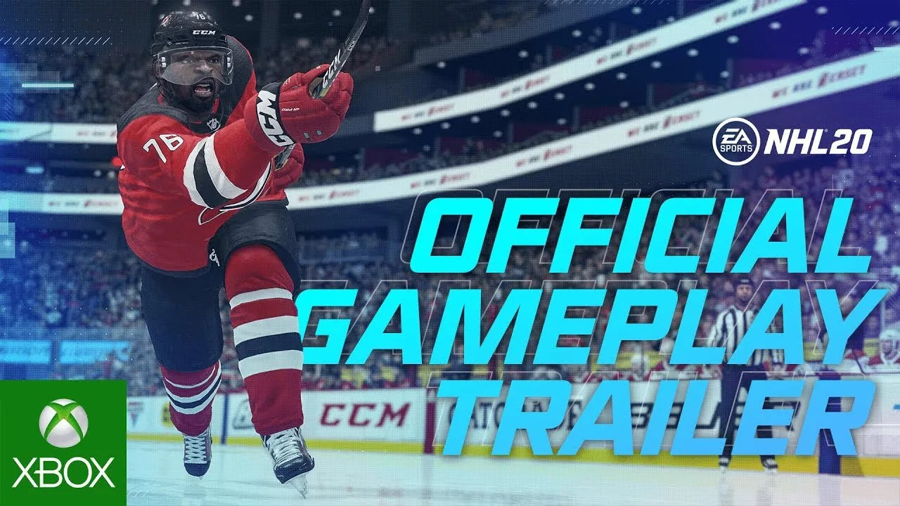 NHL 20 Official Trailer de jogabilidade