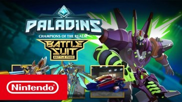 Paladins – Trailer Battle Suit Battle Pass (Nintendo Switch)