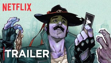 , Sharkey The Bounty Hunter | Comic Book Trailer [HD] | Netflix, CA Notícias, CA Notícias