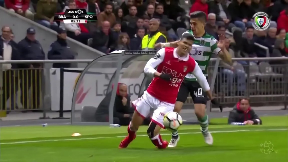 Sp. Braga (1)-0 Sporting (Liga 28ª J): Golo de Raúl Silva