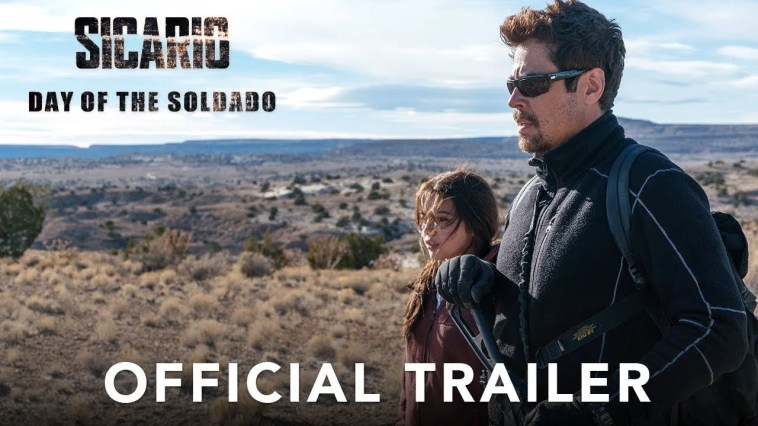 Trailer do filme Sicario, Day of the Soldado (2017)