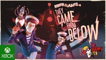 "We Happy Few: James & Roger in ""They Came From Below"" – Trailer de lançamento"