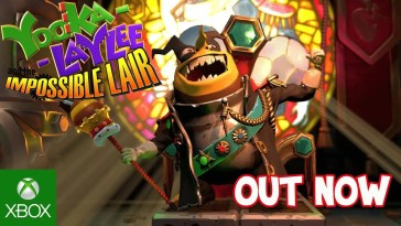Yooka-Laylee and the Impossible Lair Trailer de lançamento