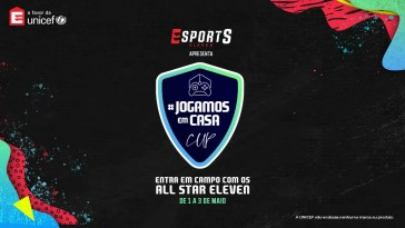 jogamosemcasa,eleven sports, Final da #JOGAMOSEMCASA CUP, hoje na Eleven Sports