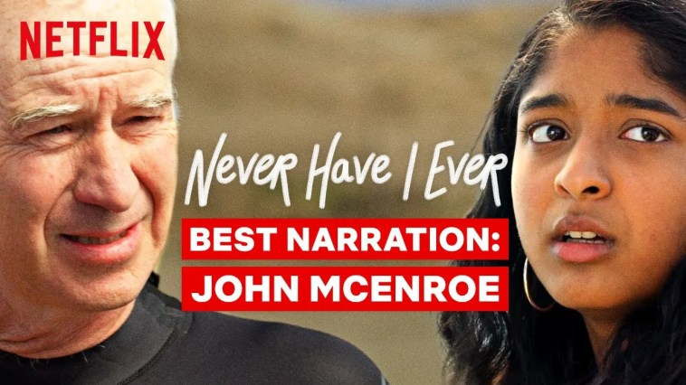 Best Narration From John McEnroe | Never Have I Ever | Netflix