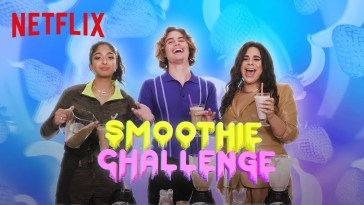 , Outer Banks vs Never Have I Ever vs On My Block | Smoothie Challenge | Netflix, CA Notícias, CA Notícias