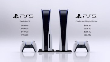PS5 prices