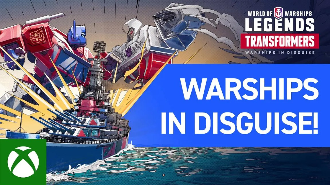 World of Warships: Legends x Transformers