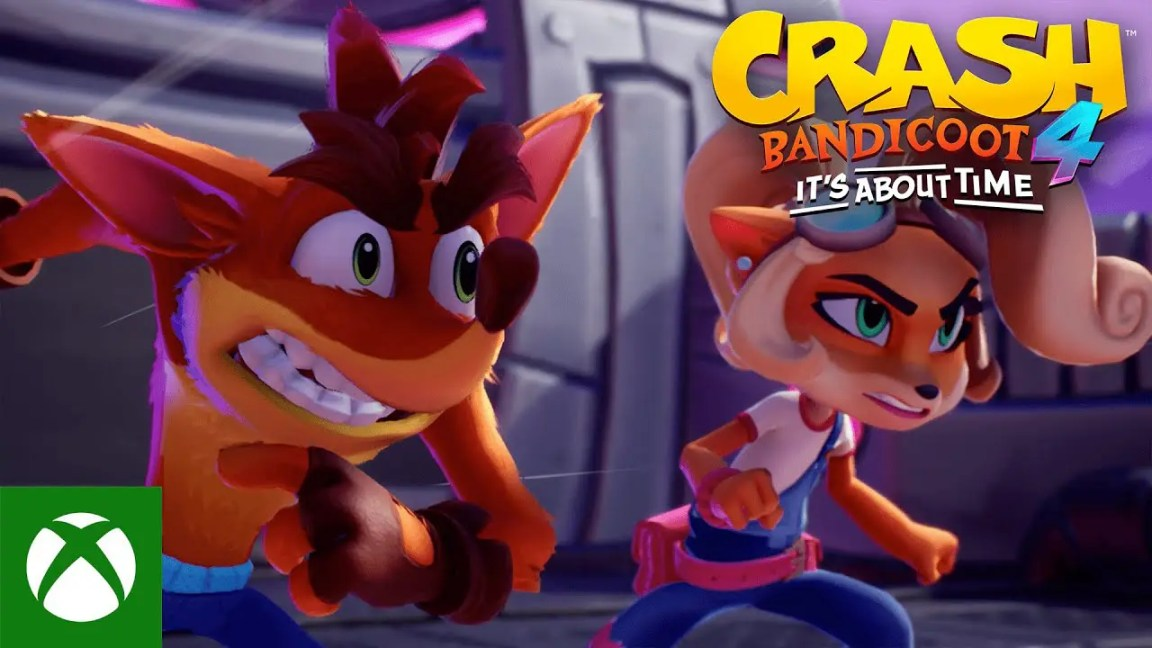 Crash Bandicoot™ 4: It's About Time – Gameplay Launch Trailer