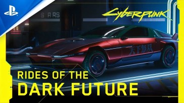 Cyberpunk 2077 | Veículos do Futuro Sombrio | PS4