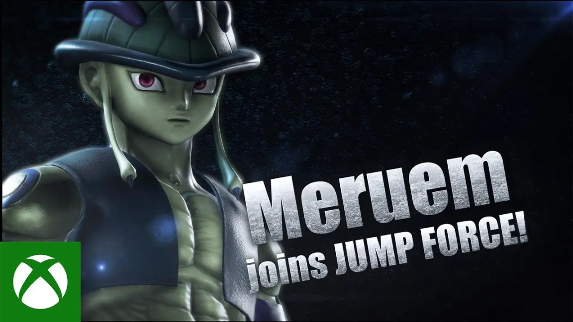 JUMP FORCE - Meruem and Hiei Launch Trailer, JUMP FORCE – Meruem and Hiei Trailer de lançamento