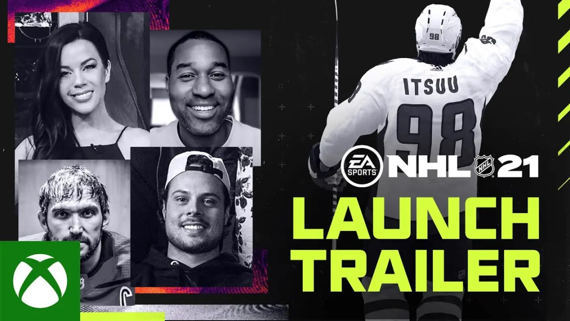 NHL 21 | Recognize Greatness | Official Worldwide Launch Trailer, NHL 21 | Recognize Greatness | Official Worldwide Trailer de lançamento
