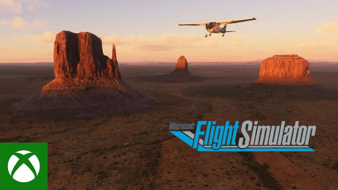 Microsoft Flight Simulator - United States World Update Trailer, Microsoft Flight Simulator – United States World Update Trailer