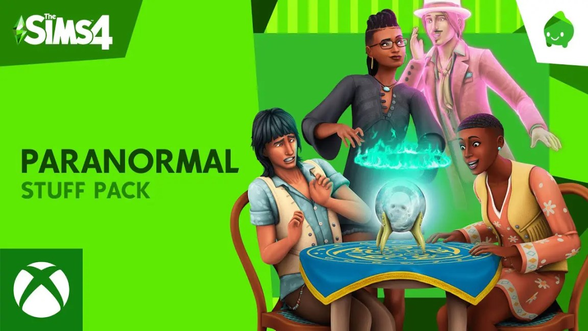 The Sims™ 4 Paranormal Stuff Pack: Official Reveal Trailer