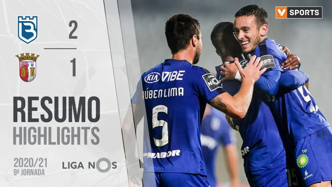 Highlights | Resumo: Belenenses 2-1 SC Braga (Liga 20/21 #9), Highlights | Resumo: Belenenses SAD 2-1 SC Braga (Liga 20/21 #9)