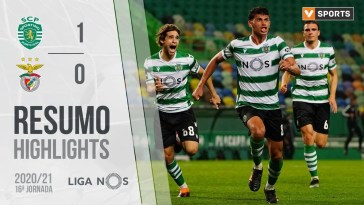 Highlights | Resumo: Sporting 1-0 Benfica (Liga 20/21 #16)