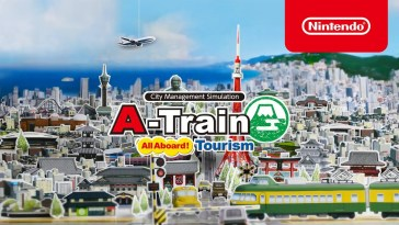 A-Train: All Aboard! Tourism – Trailer de lançamento 🚆 (Nintendo Switch)