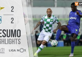 Highlights | Resumo: Moreirense 2-2 Belenenses SAD (Liga 20/21 #21)