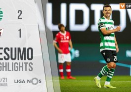 Highlights | Resumo: Sporting 2-1 Santa Clara (Liga 20/21 #22)