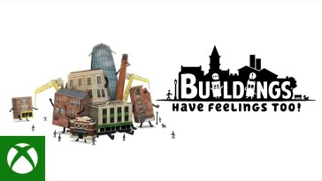 Buildings Have Feelings Too! - Launch Trailer