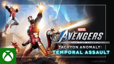 Marvel's Avengers Tachyon Anomaly Event - Trailer