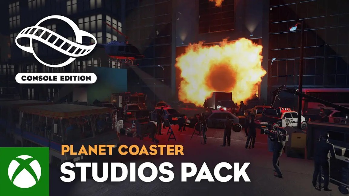 , Planet Coaster: Console Edition | Studios Pack Trailer