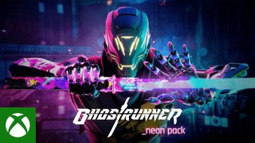 Ghostrunner Neon Pack and Wave Mode Trailer, Ghostrunner Neon Pack and Wave Mode Trailer