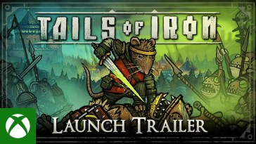 Tails of Iron - Launch Trailer: Your Tail Begins…, Tails of Iron – Trailer de lançamento: Your Tail Begins…