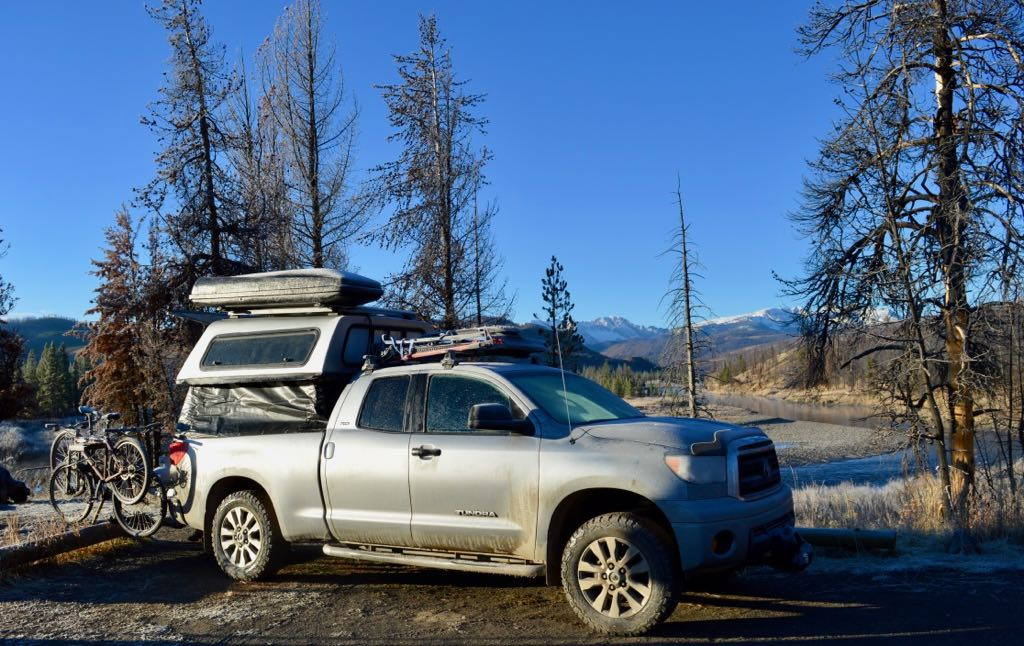 truck bed camper build
