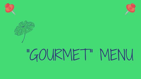 Cartel Web Menu gourmet ENG