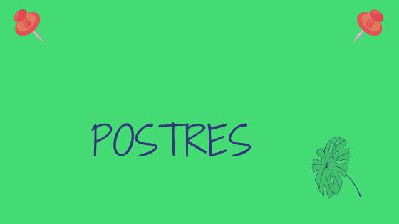 Cartel Web Postres