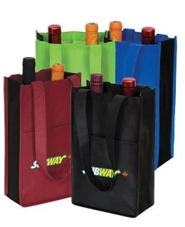 two bottle wine bag