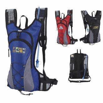 custom hydration backpack