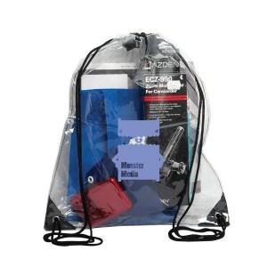 Custom Clear Drawstring Bag