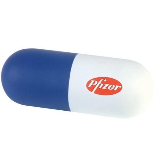 pill shape stress reliever