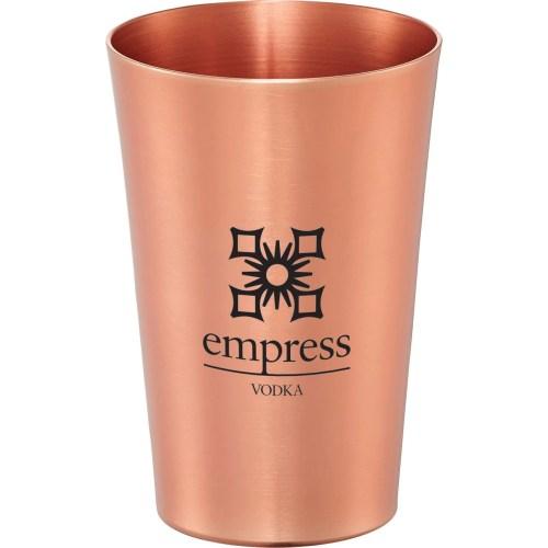 Metal Pint Cup - copper