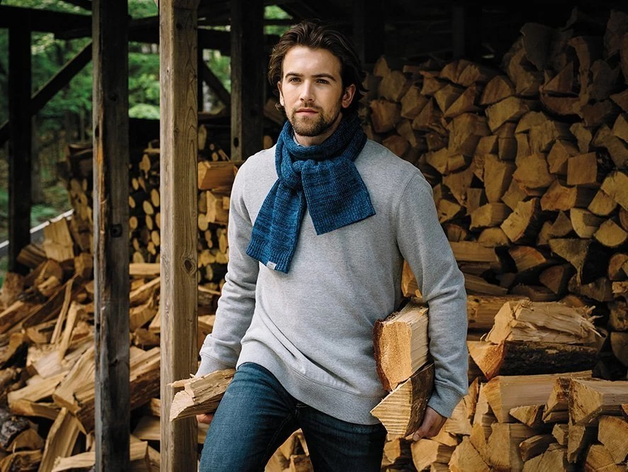 Roots73 Raven Lake Knit Custom Scarf