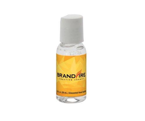 Clear Hand Sanitizer in Round Bottle