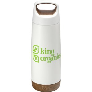 Valhalla Copper Vacuum Insulated Bottle - white