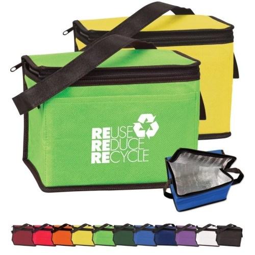 6-Pack Non-Woven Cooler Bag