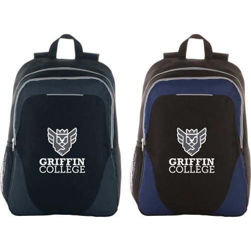 Reflective Stripe Computer Backpack - 15""